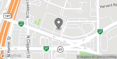 Mapa de 3201 East Grand River Avenue en Lansing
