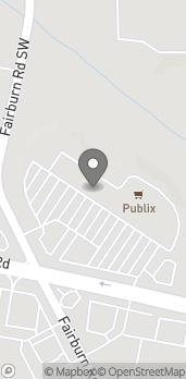 Map of 3695 Cascade Road SW in Atlanta