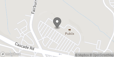 Map of 3695 Cascade Road SW in Atlanta