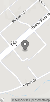 Map of 1827 Griffin Dr US Hwy 70 in Harriman