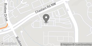Mapa de 745 Chastain Road NW en Kennesaw
