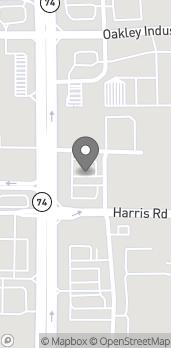Map of 8030 Senoia Rd in Fairburn
