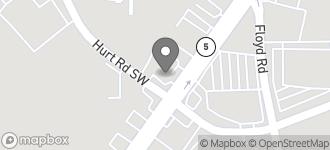 Map of 3720 Austell Rd. SW in Marietta