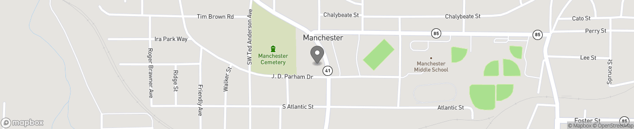 Map of 404 N 5th Avenue in Manchester