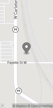 Map of 209 W. Carlton Road in Hillsdale