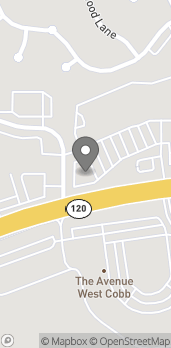 Mapa de 3636 Dallas Hwy en Marietta