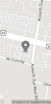 Map of 3245 Cobb Parkway NW in Acworth