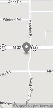 Mapa de 1275 W. Main St en Gaylord
