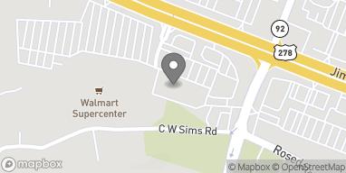 Mapa de 4272 Jimmy Lee Smith Pkwy en Hiram