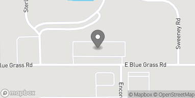 Mapa de 4459 E Blue Grass Rd en Mt. Pleasant