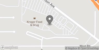 Map of 10463 Harrison Ave in Harrison