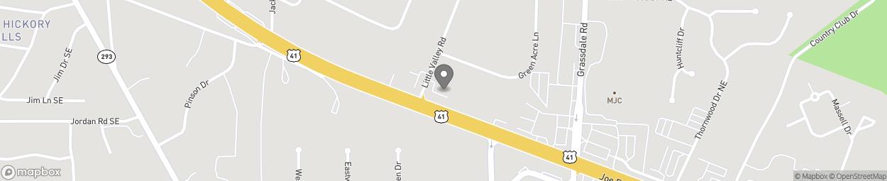 Map of 1444 Joe Frank Harris Prkwy in Cartersville