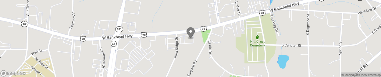 Map of 620 Bankhead Hwy in Villa Rica
