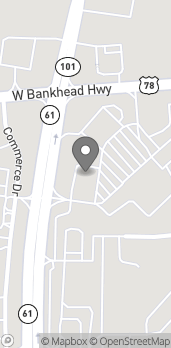 Map of 664 West Bankhead Hwy in Villa Rica
