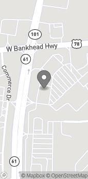 Mapa de 664 West Bankhead Hwy en Villa Rica