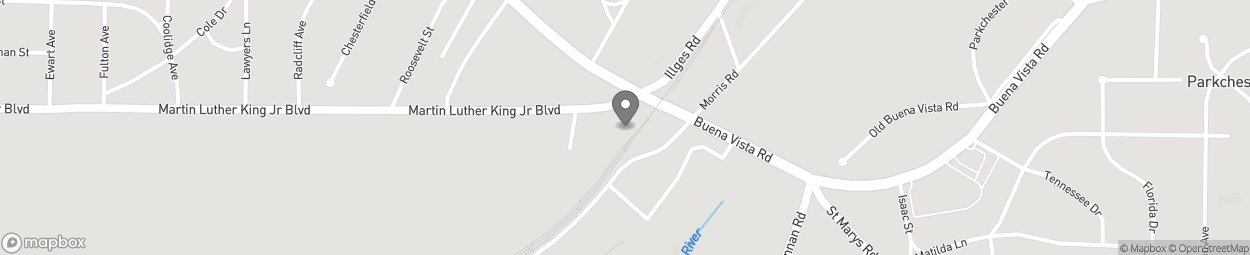 Map of 3000 Buena Vista Road in Columbus