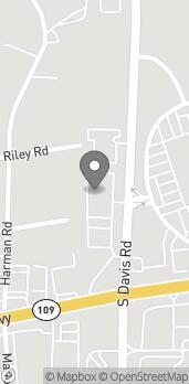 Mapa de 380 S Davis Road en Lagrange