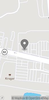Map of 1318 West Walnut Ave in Dalton