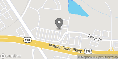 Map of 1651 Nathan Dean Bypass in Rockmart