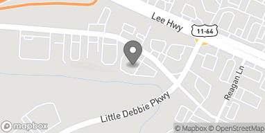 Map of 9032 Old Lee Hwy in Ooltewah