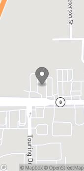 Map of 1124 West 7th Street in Auburn