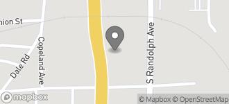 Map of 325 S. Eufaula Avenue in Eufaula