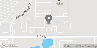 Map of 6385 B Drive North in Battle Creek