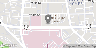 Map of 405 Turner McCall Blvd NE in Rome