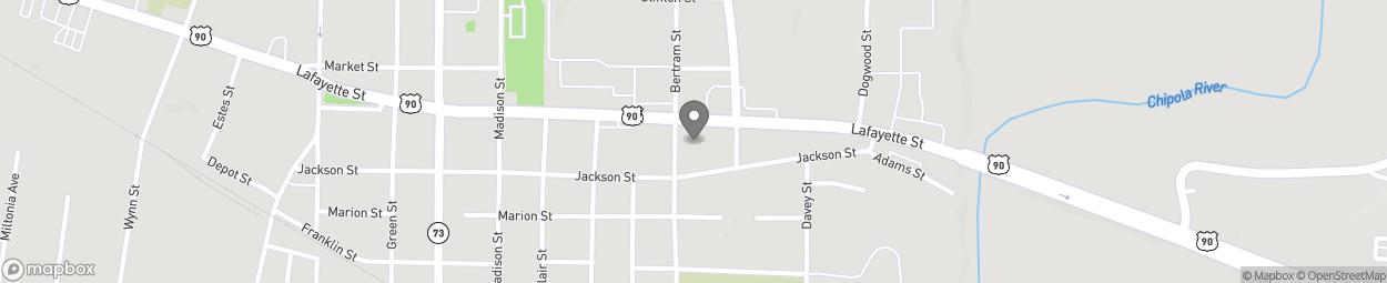 Carte de 4487 Lafayette St à Marianna
