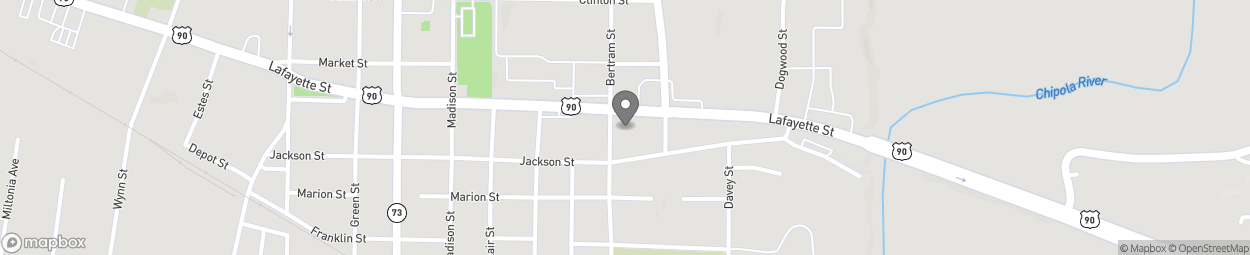 Map of 4487 Lafayette St in Marianna