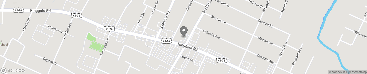 Map of 4405 Ringgold Road in East Ridge