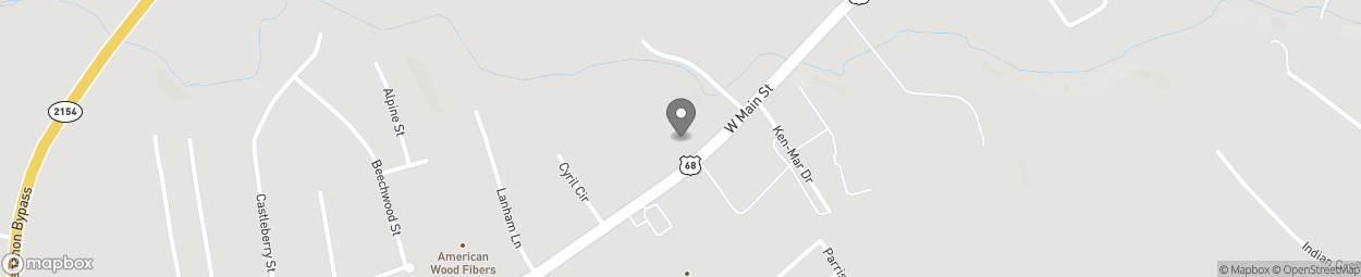 Map of 749 W Main St in Lebanon