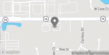 Map of 9807 Illinois Rd in Fort Wayne