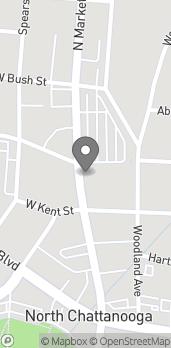 Mapa de 400 North Market Street en Chattanooga