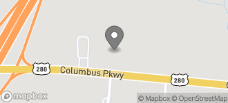 Map of 1200 Columbus Parkway in Opelika