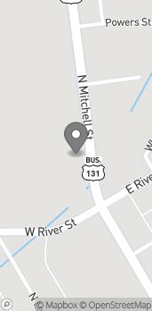 Mapa de 811 N Mitchell St en Cadillac