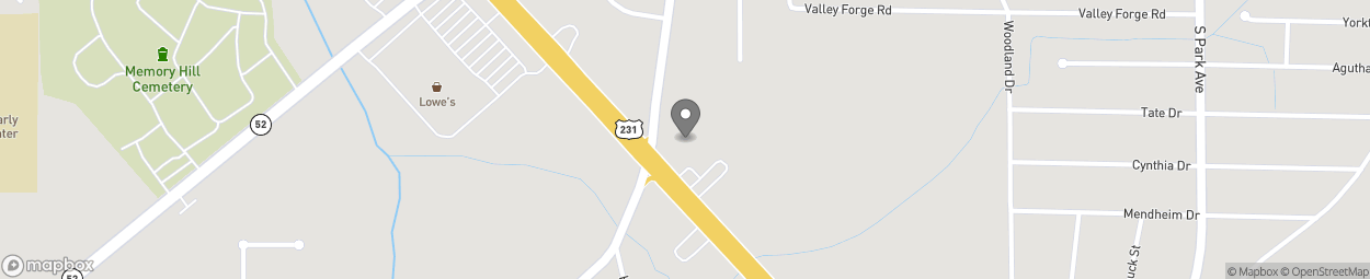 Map of 2590 Ross Clark Circle in Dothan