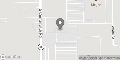 Map of 1376 S Centerille Rd in Sturgis