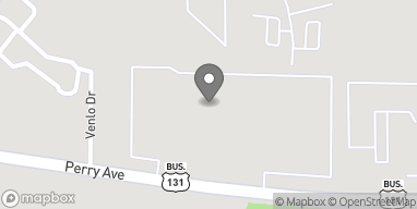Mapa de 1270 Perry Ave en Big Rapids