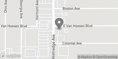 Mapa de 5901 S. Westnedge Ave en Portage