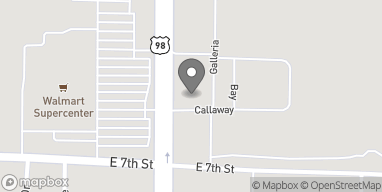 Map of 710 North Tyndall Parkway in Callaway