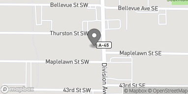 Map of 4211 Divison Ave S in Kentwood