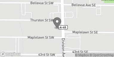 Mapa de 4211 Divison Ave S en Kentwood