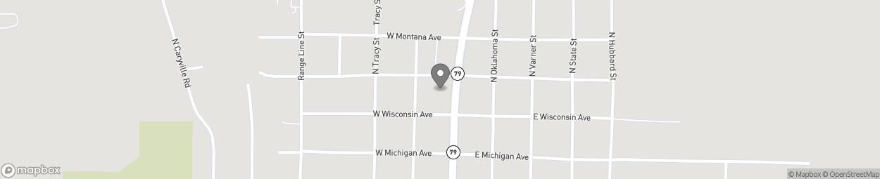 Map of 811 N Waukesha St in Bonifay