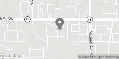 Mapa de 1266C 28th Street Southwest en Wyoming
