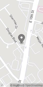 Map of 2111 East 10th Street in Jeffersonville