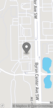 Map of 5795 Byron Center Ave SW in Wyoming