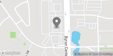 Mapa de 5795 Byron Center Ave SW en Wyoming