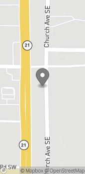 Mapa de 1628 Pelham Rd S en Jacksonville