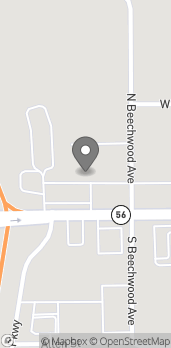 Map of 1220 W McClain Ave in Scottsburg